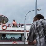 Arrival into Mainau
